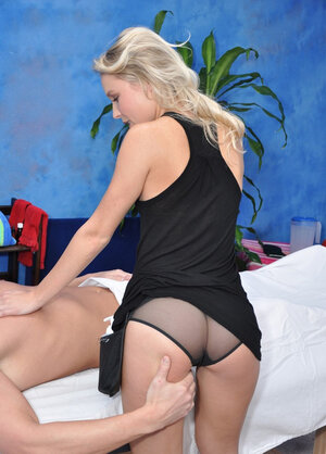 Little masseuse nailed by client in mainstream and moreover reverse cowgirl sex positions
